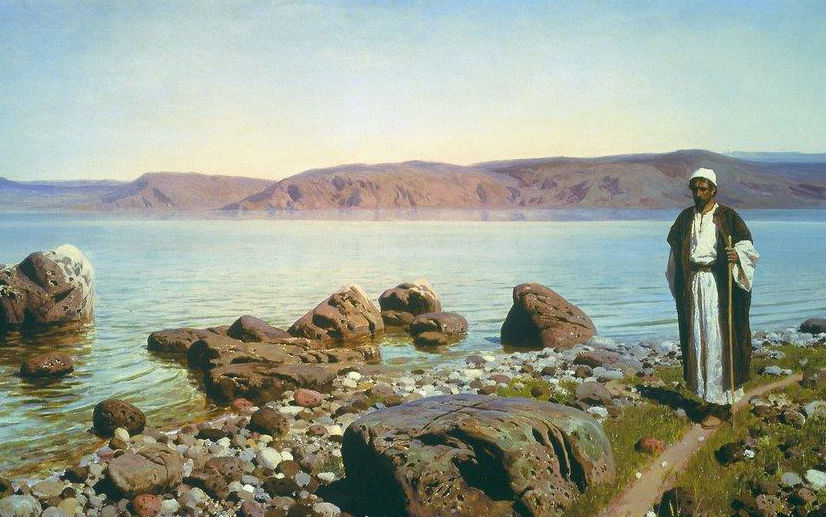 Polenov-Tiveriad-lake